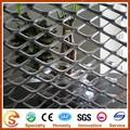 Alumínio diamante malha expandida / alumínio malha para decoração de parede