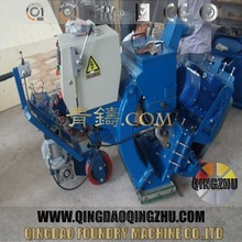 Industrial Movable Floor Shot Blasting Machine For Road And Airport Marking Line Removal