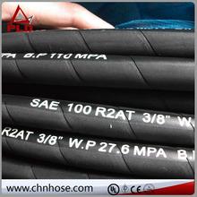 hose crimping machine equipment single wire braid/textile covered hydraulic hose