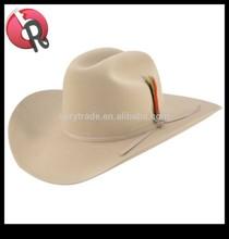 WATERPROOF COWBOY Cattleman HAT Black Suede- L -Size 7 1/4 - 7 3/8 or 58 - 59 cm