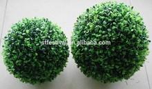 2015 colore verde artificiale palla topiaria bosso