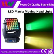 Newest Mini 36 12w rgbw 4 in 1 Led Moving Head Light matrix beam led