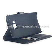 Genuine leather flip case for samsung galaxy e7