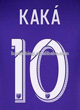 La ciudad de orlando #10 kaka tailandia mejor calidad de color púrpura de camisetas de fútbol