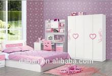 Jisheng wood UV Coating high gloss mdf plate children bedroom wardroe design fittings_Export to Europe,America
