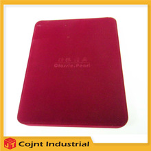 china manufacturer showroom jewelry cases customized velvet necklace packaging box
