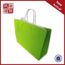 Custom paper shopping bag kraft paper bag manufacturers paper bag handle