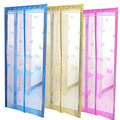 Diy insectos fibra de vidro da tela da cortina/rededemosquito cortina de porta
