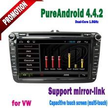 Wholesale Factory Price 8 inch vw jetta car dvd gps navigation system with 3G for Passat Jetta Golf Tiguan SEAT Altea Leon