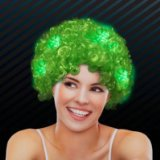 St. Patrick's Day 100th cheapest wig football fan double sided tape synthetic hair extension