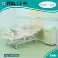 De lujo 2 de la manivela manual de estilo europeo cama de enfermería