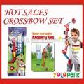 Venda quente engraçado de arco e flecha brinquedos conjunto/seta& brinquedos arco/besta 35881r set