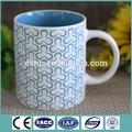 promoção popular 11oz cerâmica vidrada caneca copo de impressão por sublimação