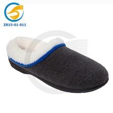 Soft classic indoor scuff slipper felt mule