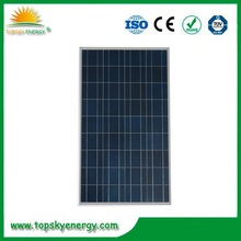 1640*992*50mm Size and Polycrystalline Silicon Material solar panels 250 watt