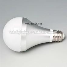 bulb led light aluminum PC Milk cover 2700k WW dimmable 24v 6w led bulbs