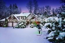 Red Green Blue christmas lights yard