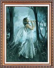 2015 angel 5d round crystal diamond painting (40*50cm)