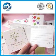 Square shape fashion creative greeting card