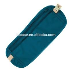 New Travel Pouch Compact Passport ID Waist Belt Bag Holder hidden security money waist bag