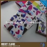 factory price design leather case for sony xperia e c1504/c1505/c1605 case