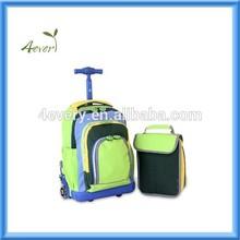 2014 Best Brand Kids Trolley School Bag, Cool School Trolley Bags for Boys