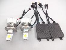 china manufacturer 12V led lights car led lighting led headlight Hi/low LED Conversion Kit H4 9004 9007 3600lm