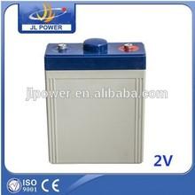 super solar battery 2V400AH for UPS EPS power or wind solar system