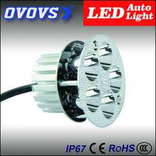OVOVS 12v motorcycle light led light auto tuning round led work light