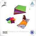 Ganchillo saco de dormir con almohada para los niños