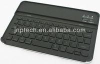 Black mini wireless Bluetooth LED Keyboard for IPAD mini screen use