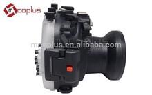 Mcoplus Camera Waterproof Case For Camera Fuji Fujifilm 18-55mm Lens X-T1 vs MEIKON Waterproof Case