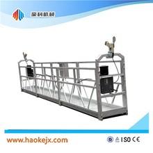 ISO&CE Aluminium suspended access gondola bmu gondola blockstop