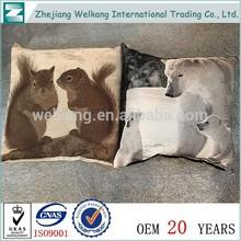 China New Design Popular Plain Cushion Cover