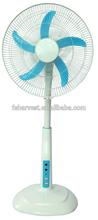 DC solar stand fan