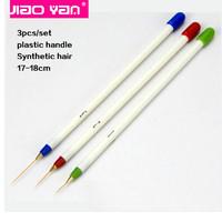 3pcs Nail Art Acrylic Liner Drawing Brush Pen wholesale #4329