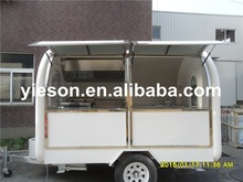 Yieson 2015 New High Quality hot dog stands food concession trailer fiberglass ice cream YS-FB200B