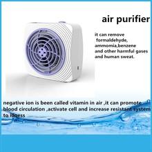 negative ion mini ionizer car air purifier jo-6271