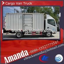 JAC 4*2 120hp 2 ton small mobile vans, used van for sale