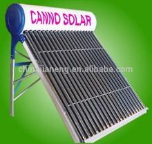 100 litri compatto pressurizzato calorifero di acqua solare con serbatoio assistente per la casa