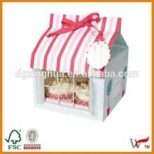 Cupcake boxes for 4 cupcake & house shape cupcake boxes