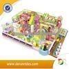 La atracción de interior de los niños de jugar en el centro, travieso castillo para la venta