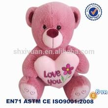 carino logo personalizzato orsi della peluche rosa orsacchiotto immagini con il cuore