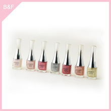 private label nail polish carved line abs nail tips