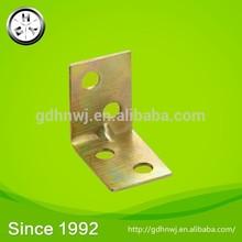 Logistics centre high quality zinc plated iron corner connector/ right angle bracket (CF6111)
