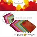 Colorido perlado papel con hermosos diseños
