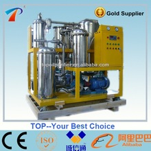 Vegetal oil / trench oil / cooking oil cleaning machine, PLC auto control, deodor and remove all contaminants