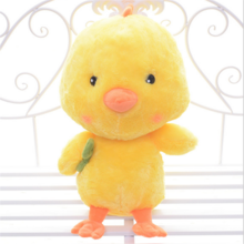 promotional custom stuffed plush chicken toy