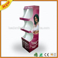 low cost cardboard paper display stand ,low cost & easy assembled floor display stand ,low cost & easy assembled corrugated fsdu