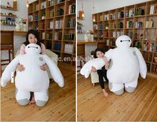 2015 baymax,BIG HERO 6 BAYMAX PLUSH with tag,custom plush toy animal